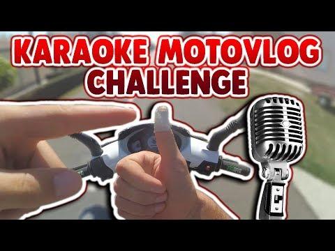 KARAOKE MOTOVLOG CHALLENGE | PROZIVKA ZA FU#KING RIDERSE