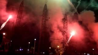 Espectáculo piromusical mayordomía 2016