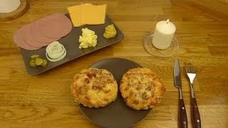 Naumburger Leberkäse & Bacon Cheese Roll / Brötchen