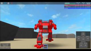 ROBLOX Animated Mech Showcase: Cat Review
