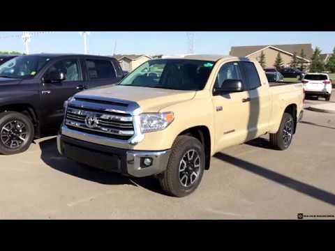 2017 toyota tundra double cab trd off road in quicksand - youtube