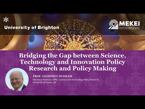Bridging the Gap between Science, Technology and Innovation Policy Research and Policy Making