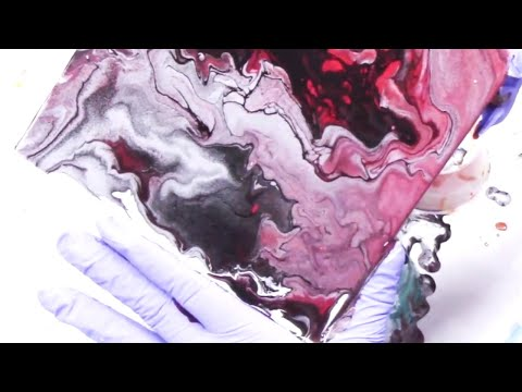 Dirty Pour - Flip Cup Experiment - Cheap Paint and Water WOW!