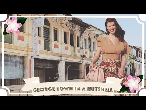George Town In A Nutshell! // Jessie & Claud // Malaysia Travel Vlog [CC]