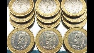 1 euro Spain 1999 2000 2001 2002 2003 2004 2005 2006 2007 2008 2009 2010 españa Hiszpania