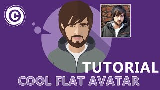 Designing a Flat Avatar | Slow Version | Adobe Illustrator