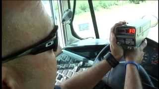 Constable uses school bus as decoy to catch speeders