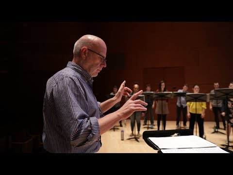Conductor Donald Nally explores contemporary chaos through choral music