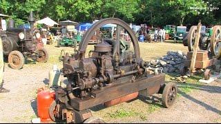 Bulldog Dampf Diesel 2015 - die Stationärmotoren 1/2 Stationary Engine Rally