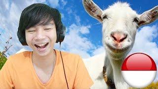 Kambing Jadi Jadian - Goat Simulator - Indonesia