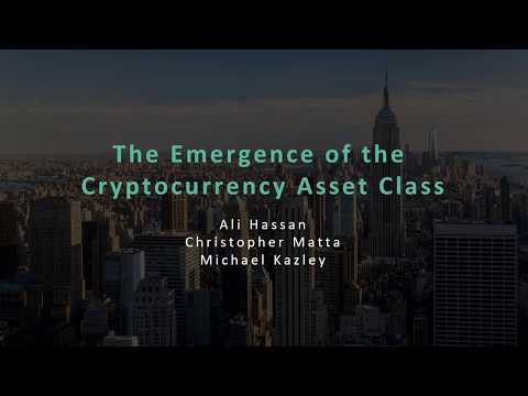 Crescent Crypto - The Emergence of the Cryptocurrency Asset Class
