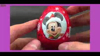 yt:stretch=16:9 liliya 3 Surprise Eggs - Mickey Mouse, Disney Frozen, SpongeBob SquarePants