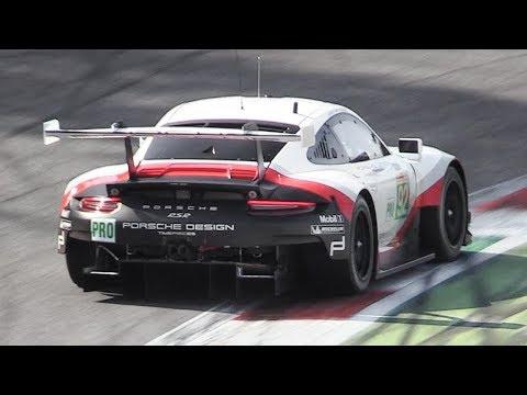 Porsche 991.2 RSR GTE: The best and loudest sounding WEC 2018/2019 race car!