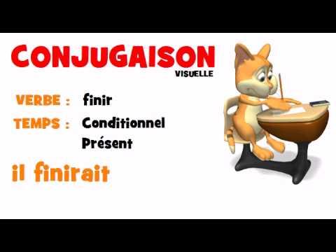 Conjugaison = finir = Conditionnel Présent