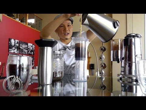 How to make the best coffee with the Aeropress - Inverted Method