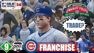 MLB 14: The Show (PS4) Chicago Cubs Franchise - EP9 (vs Brewers) Cubs Make A Trade?