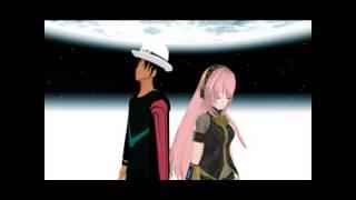 UTAU x VOCALOID] SATORU TETSUO AND MEGURINE LUKA  JUST BE FRIENDS