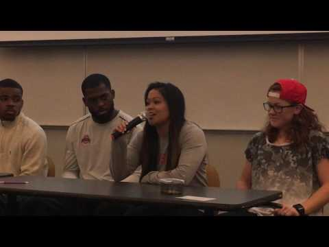 Panel Discussion Athletes in Action Ohio State 2/22/2016