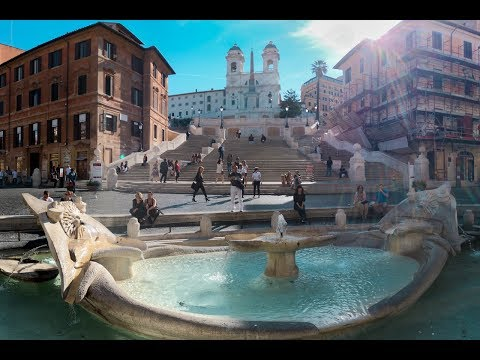SPANISH STEPS - ROME - ITALY 2017 4K TRAVEL GUIDE