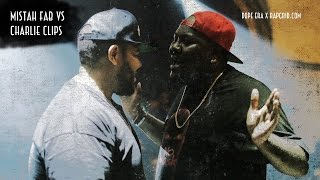 Charlie Clips vs Mistah F.A.B. | Rap Grid & Dope Era's No Mask | Rap Battle