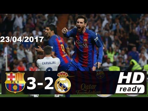 Real Madrid vs Barcelona 2-3 [23/4/2017] résumé HD