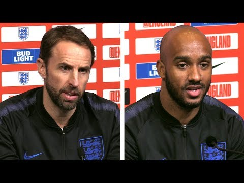 Gareth Southgate & Fabian Delph Pre-Match Press Conference - England v USA - International Friendly