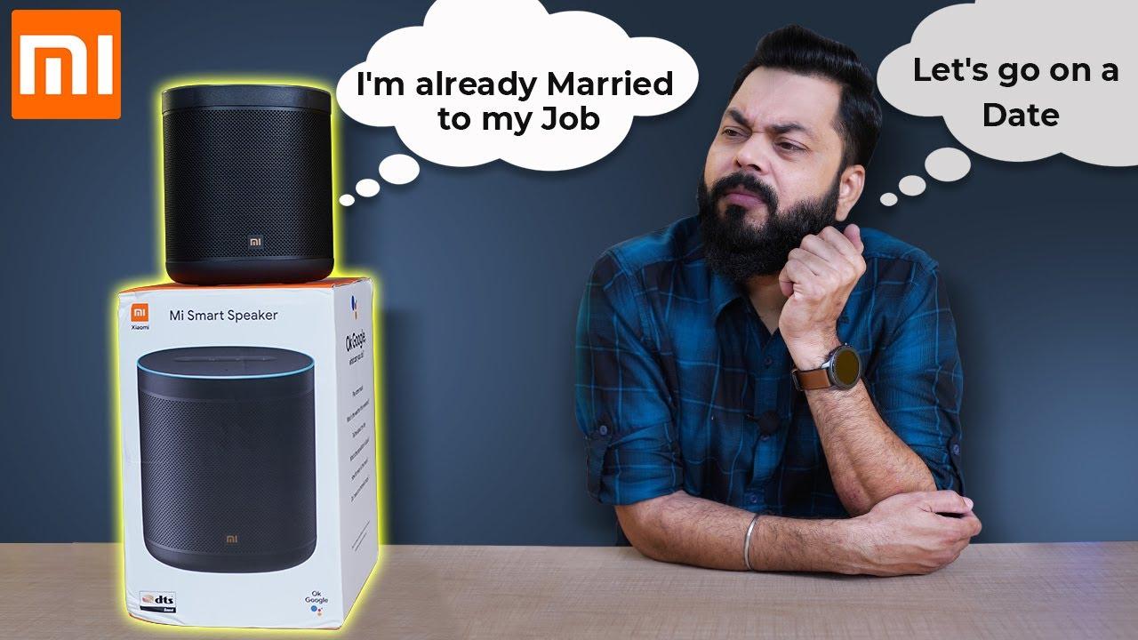 Mi Smart Speaker Unboxing And First Impressions ⚡⚡⚡ Best Smart Speaker Under 4000??