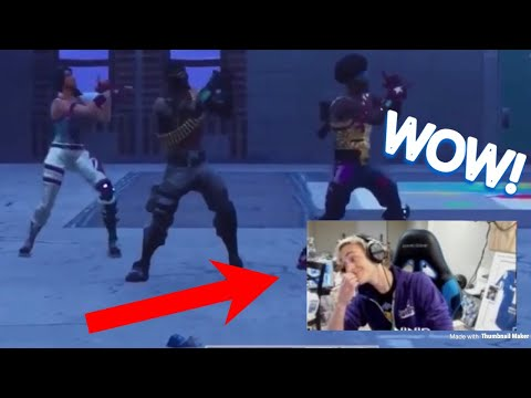 """Ninja Reacts to """"This Is Fortnite"""" - This is America Parody! (By Wiziblimp)"""