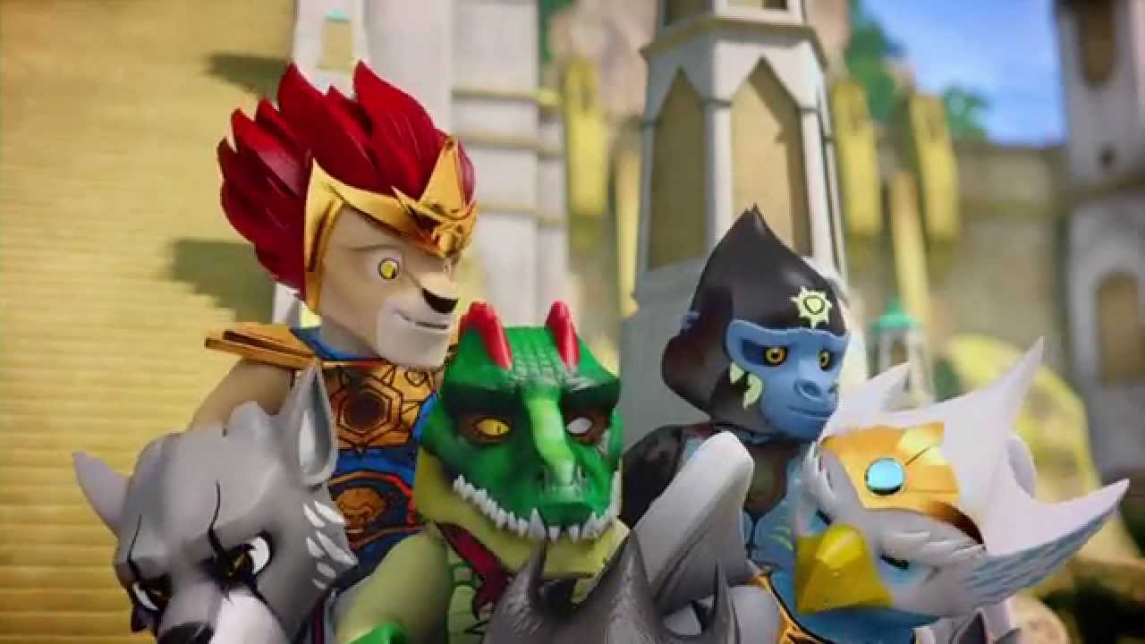 "LEGO® Legends of Chima™ ""Outlandish Tale"" 2 min. English"