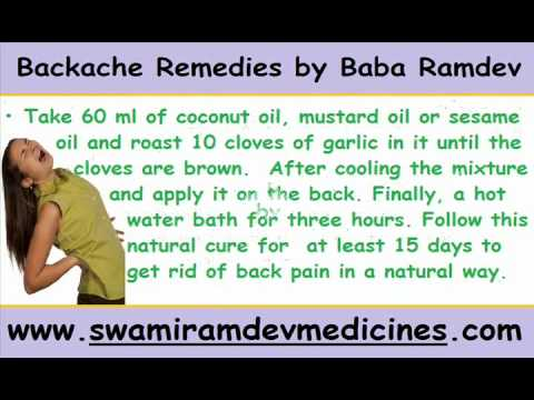 Backache Remedies By Baba Ramdevwmv