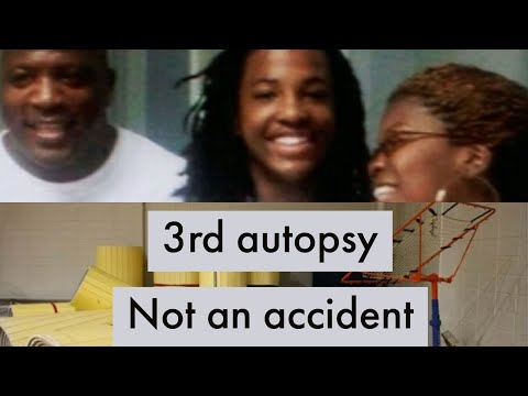 Kendrick johnson 3rd autopsy results NOT consistent with accident!