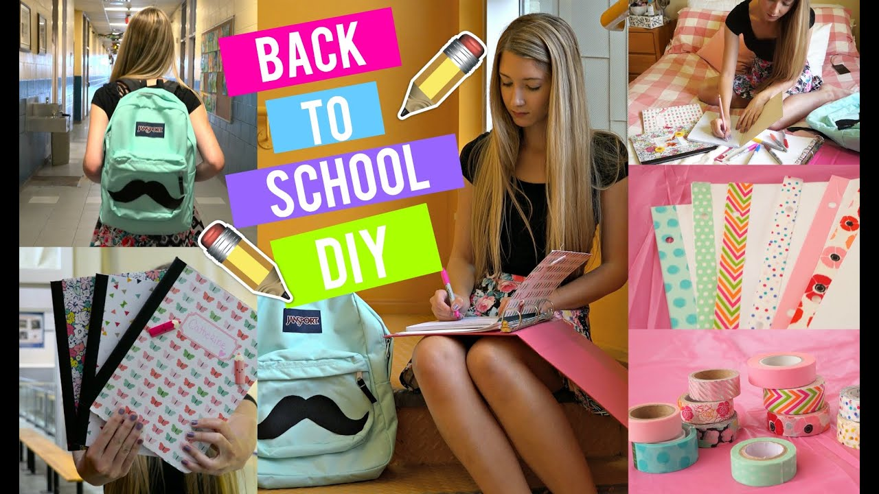 Favori DIY FOURNITURES SCOLAIRES ! | BACK 2 SCHOOL 2015 - YouTube VR11