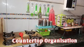 🍴Best 🍹🍹 Kitchen counter top organisation🍽️🍽️Best ideas and tips 2018 #countertop #kitchen thumbnail