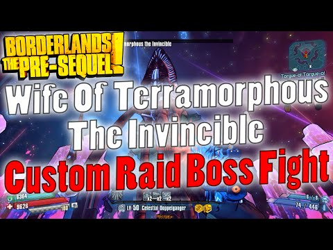 Borderlands: The Pre-Sequel | Wife Of Terramorphous The Invincible | Custom Raid Boss Fight