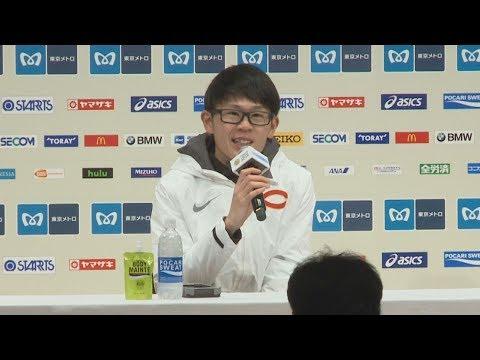 堀尾が日本男子最高の5位 東京マラソン
