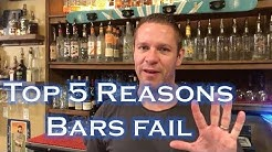 Top 5 Reasons Bars & Restaurants Fail