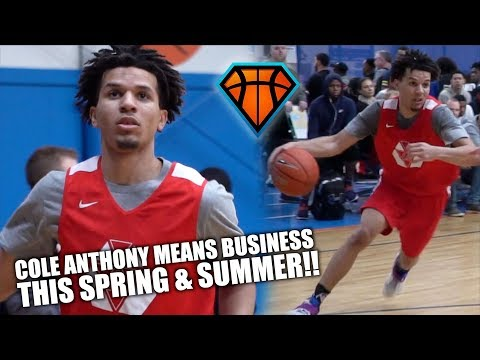 Cole Anthony MEANS BUSINESS THIS SPRING & SUMMER!!   New England HoopFest Highlights