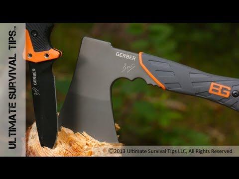Gerber Bear Grylls Survival Hatchet - REVIEW - Best / Ultimate Survival Hatchet? 31-002070