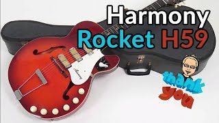 HARMONY ROCKET H59 - 60s Tone Monster - Guitar Discoveries #47 - Celebrating 1 Year of Discoveries