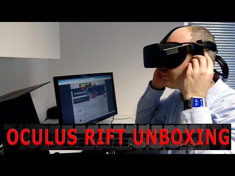 Oculus Rift Unboxing Video OCinside.de