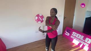 Netball | Home Ball Skills For ALL | Part 1 | Solo Sessions