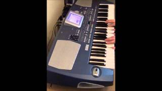 Korg PA-500 Guitar Bank Demo - Patch - 020   12 Strings Gtr