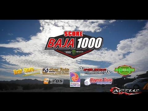 2016 SCORE BAJA1000 TRAILER by Cactus Films