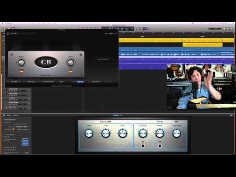 Garageband 10: How to get GREAT bass tone! Advanced Lesson