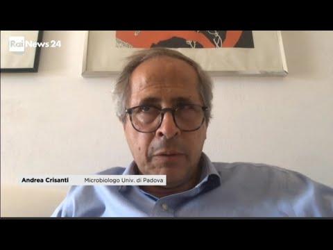 Rainews24 - Aumentano i contagi, il parere del professor Crisanti