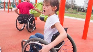 We Found an AWESOME Inclusive Playground