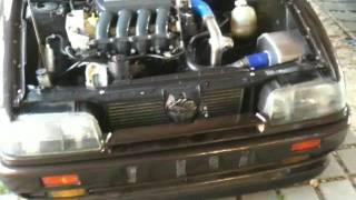 renault 19 cabrio 2 0 16v f4r turbo first rollout