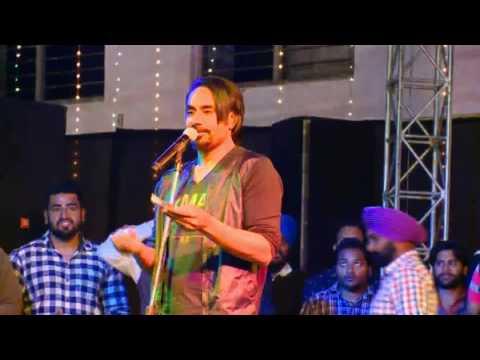 Babbu Maan - Best Speech || Live Show YFC Rurka Kalan