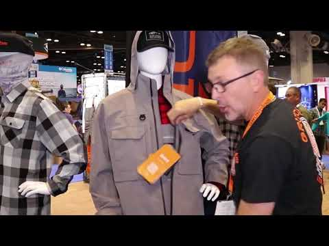 Grundens Dark And Stormy II Jacket And Bibs At ICAST 2018