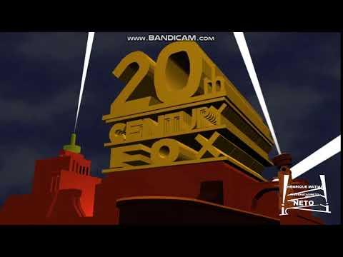 20th Century Fox 1953 logo remake blender